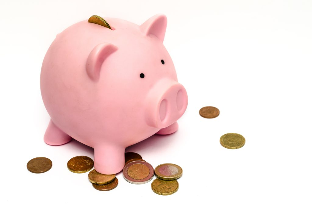 Piggy Bank on coins, Money Savings image in Business and Finance category at pixy.org